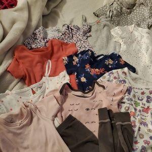 Carter's onesies and shirt bundle 24m
